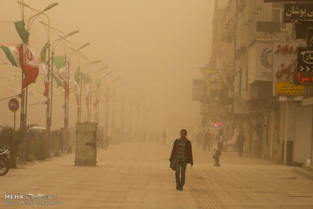گرد و غبار خوزستان,اخبار اجتماعی,خبرهای اجتماعی,محیط زیست