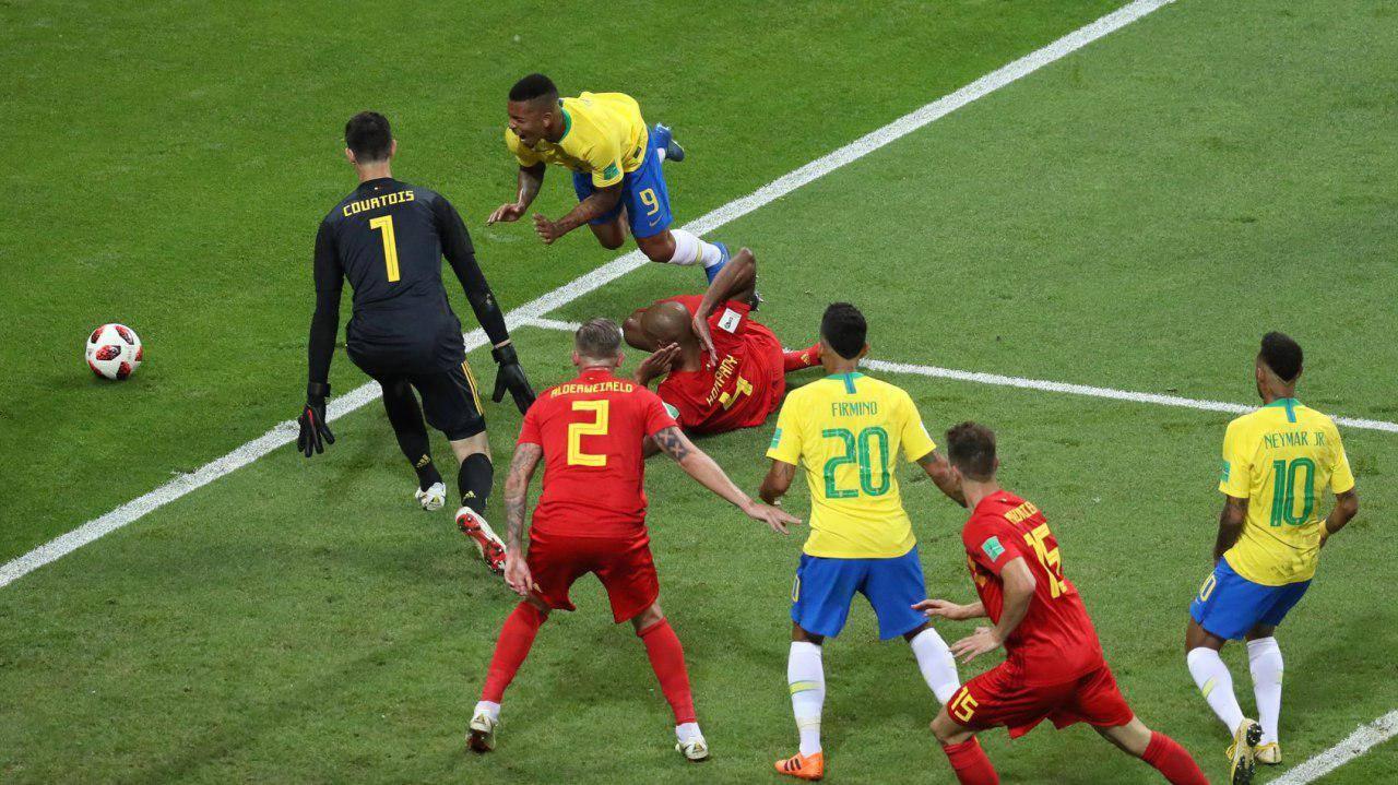 بازی تیم ملی برزیل و بلژیک,اخبار فوتبال,خبرهای فوتبال,جام جهانی