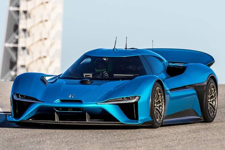 خودروی برقی Nio EP9,اخبار خودرو,خبرهای خودرو,مقایسه خودرو