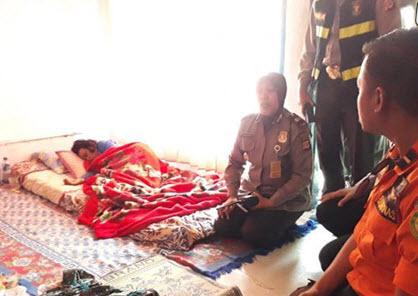 غرق شدن زن در اندونزی,اخبار جالب,خبرهای جالب,خواندنی ها و دیدنی ها