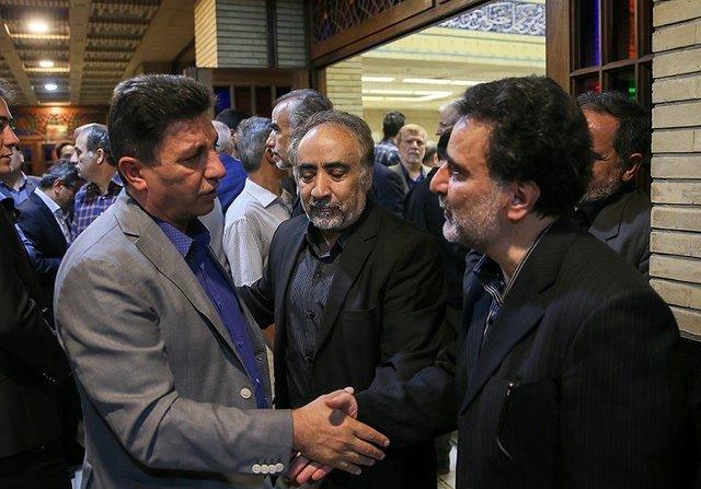 قلعه نویی در مراسم ترحیم پدر تاجزاده,اخبار ورزشی,خبرهای ورزشی,اخبار ورزشکاران