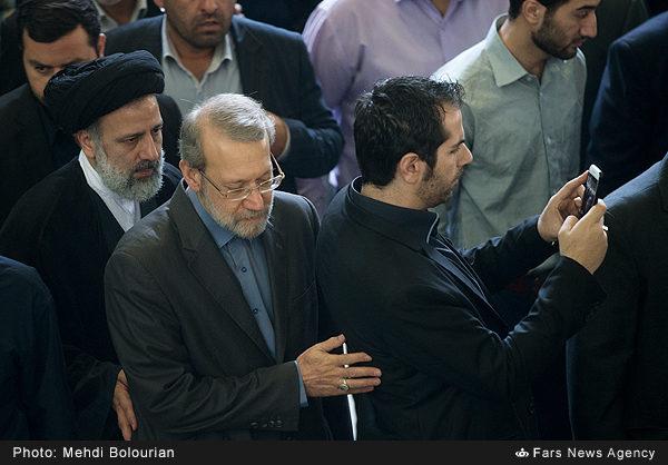رئيسی و لاريجانی,اخبار سیاسی,خبرهای سیاسی,مجلس