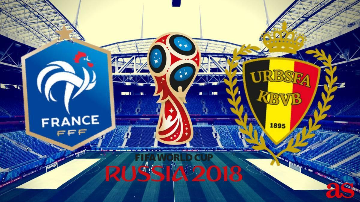 دیدار تیم ملی فرانسه و بلژیک,اخبار فوتبال,خبرهای فوتبال,جام جهانی