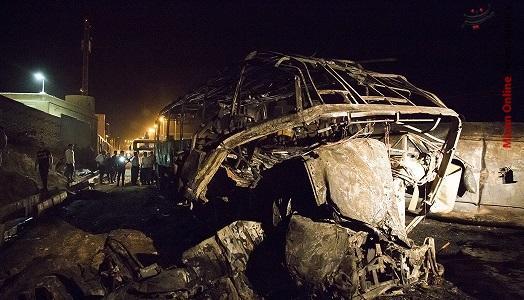 تصادف تانکر و اتوبوس,اخبار حوادث,خبرهای حوادث,حوادث