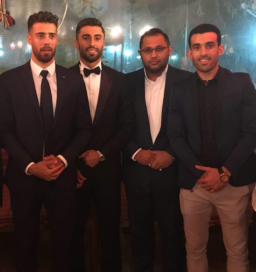مراسم ازدواج کاوه رضایی,اخبار فوتبال,خبرهای فوتبال,حواشی فوتبال