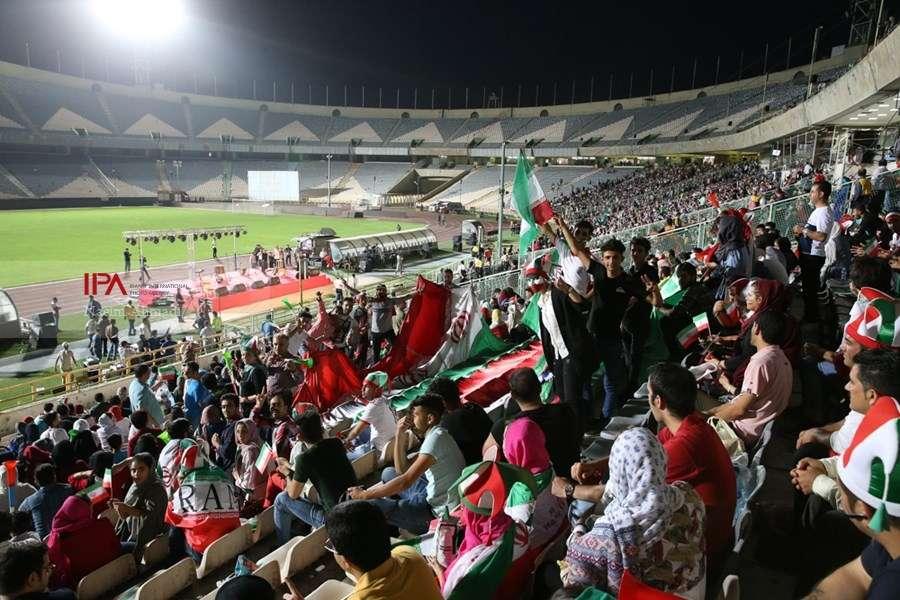 حضور خانواده ها در ورزشگاه آزادی,اخبار اجتماعی,خبرهای اجتماعی,خانواده و جوانان