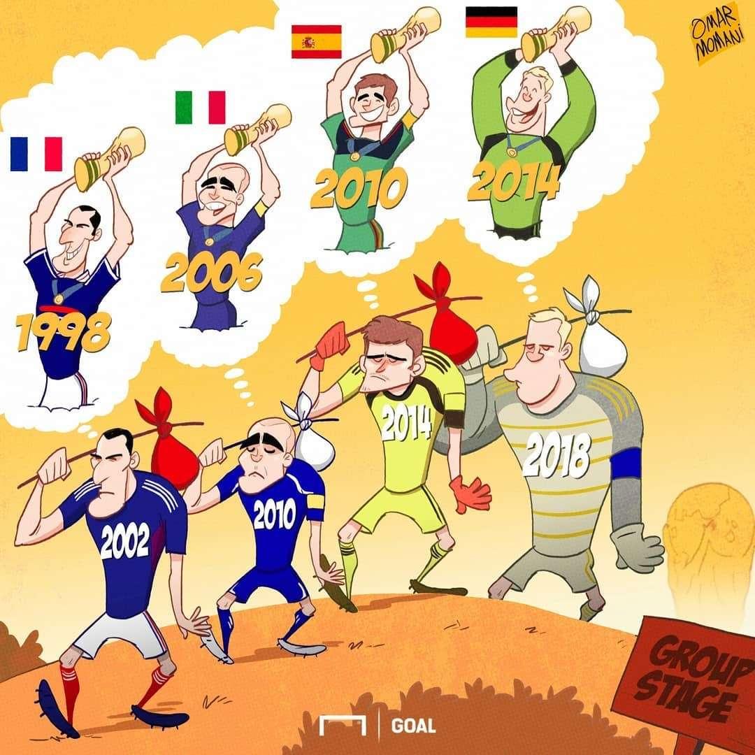 کاریکاتور کاپیتان های جام جهانی,کاریکاتور,عکس کاریکاتور,کاریکاتور ورزشی