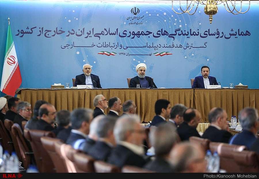 عکس همایش روسای نمایندگیهای ایران با حضور روحانی,تصاویرهمایش روسای نمایندگیهای ایران با حضور روحانی,عکس همایش روسای نمایندگیهای ایران