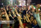 شادی مردم ایران در خیابان ها بعد از تساوی برابر پرتغال,اخبار فوتبال,خبرهای فوتبال,فوتبال ملی