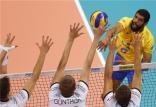 والیبال برزیل و صربستان,اخبار ورزشی,خبرهای ورزشی,والیبال و بسکتبال