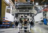 خط تولید کامیون,اخبار خودرو,خبرهای خودرو,بازار خودرو