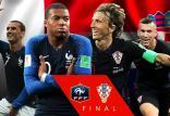 دیدار تیم ملی فرانسه و کرواسی,اخبار فوتبال,خبرهای فوتبال,جام جهانی