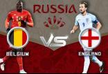 دیدارتیم های بلژیک و انگلیس,اخبار فوتبال,خبرهای فوتبال,جام جهانی