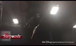 ویدئو/ ربات پرنده «والت دیزنی»