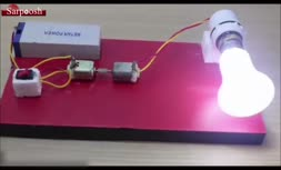 ویدئو/آموزش ساخت ژنراتور تولید برق در منزل