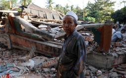 تصاویر زلزله در اندونزی,تصاویر وقوع زلزله در اندونزی,تصاویر زلزله