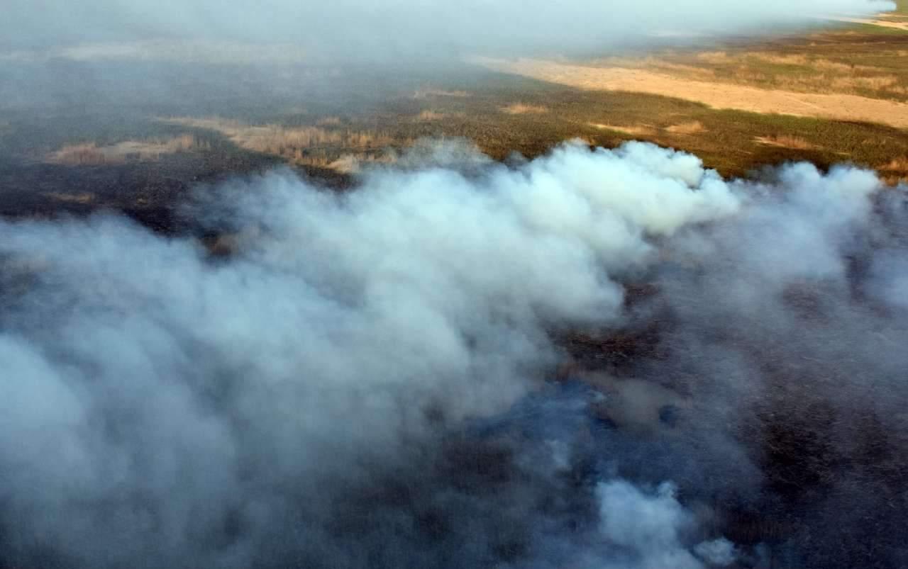 آتش سوزی هورالعظیم,اخبار حوادث,خبرهای حوادث,حوادث امروز