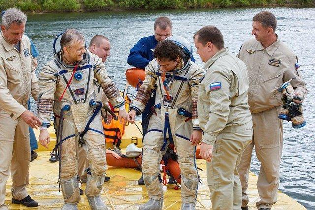 آموزش فضانوردان سایوز,اخبار علمی,خبرهای علمی,نجوم و فضا