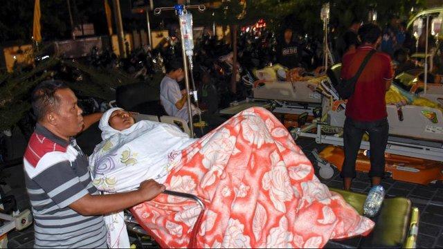 قربانیان زلزله اندونزی,اخبار حوادث,خبرهای حوادث,حوادث طبیعی