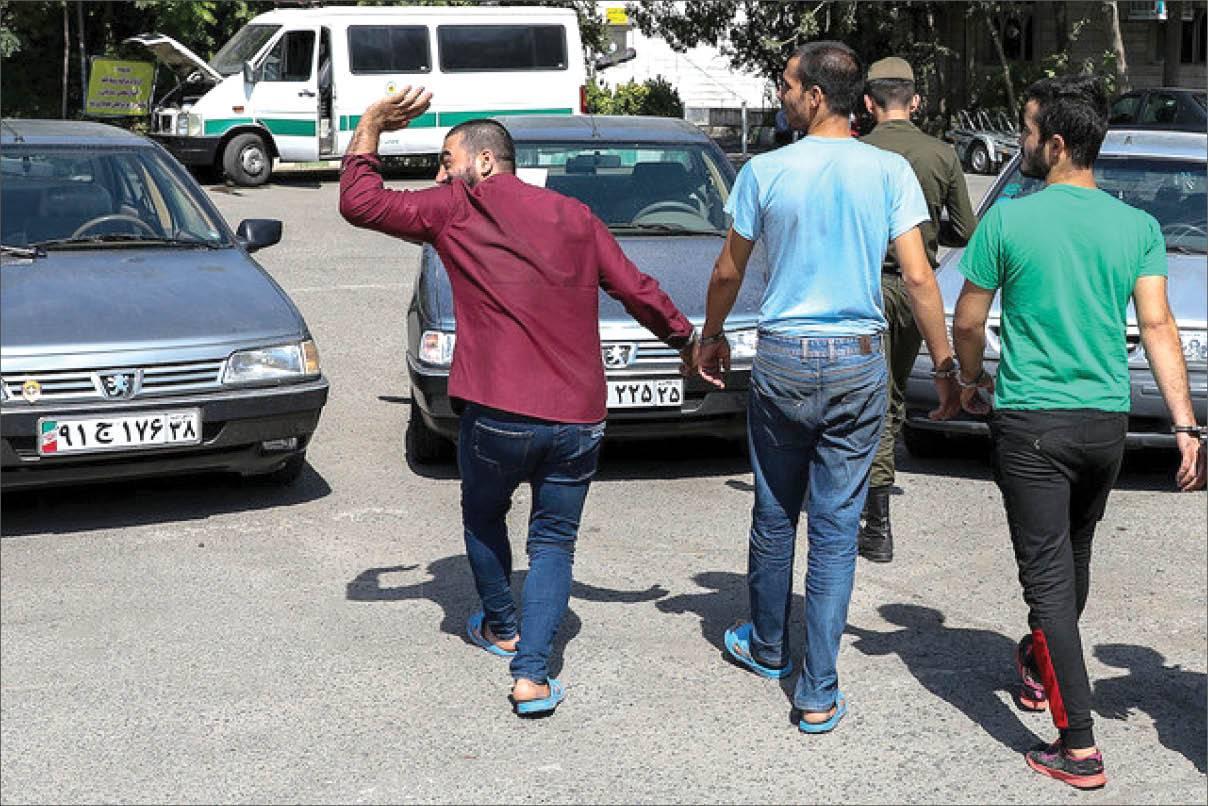 دستگیری سارقان شهر تهران,اخبار حوادث,خبرهای حوادث,جرم و جنایت