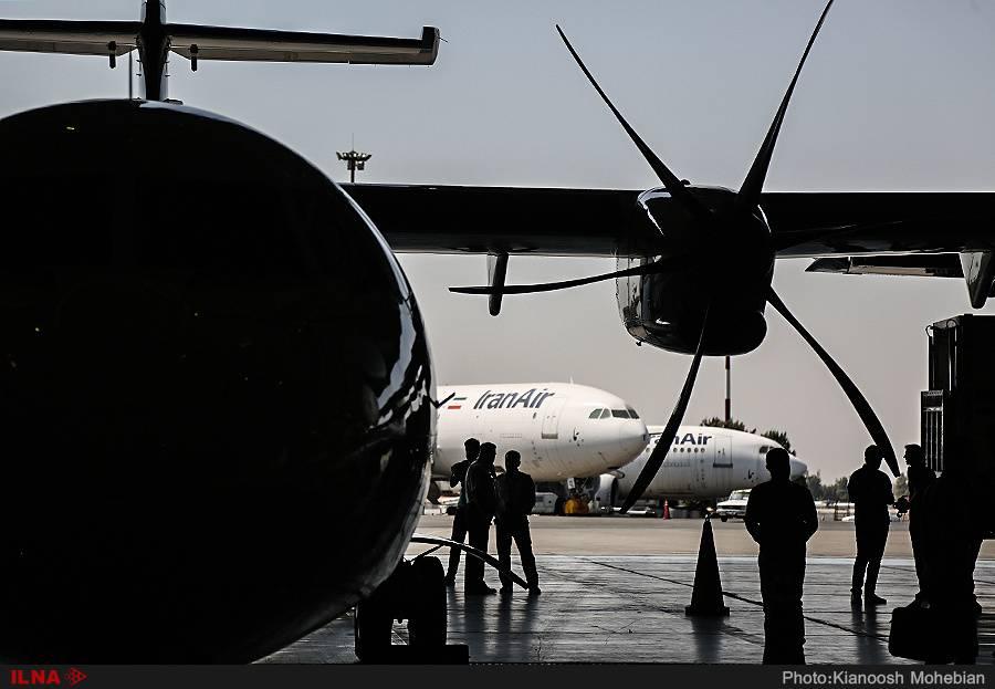 تصاویرهواپیماهای ATR,تصاویرورود 5 فروند هواپیمای ATR جدید,تصاویرهواپیمای ATR ۷۲-۶۰۰