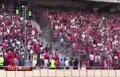 فیلم/ درگیری شدید طرفداران دو تيم تراکتورسازی و استقلال تهران در ورزشگاه آزادی