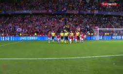 فیلم/ خلاصه دیدار اتلتیکومادرید 4-2 رئال مادرید (سوپرکاپ اروپا 2018)