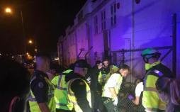 عکس حمله به عزاداران حسینی در لندن,تصاویرحمله به عزاداران حسینی در لندن,عکس مصدومیت عزاداران حسینی در لندن