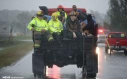 تصاویرتوفان فلورانس در آمریکا،عکس های توفان فلورانس
