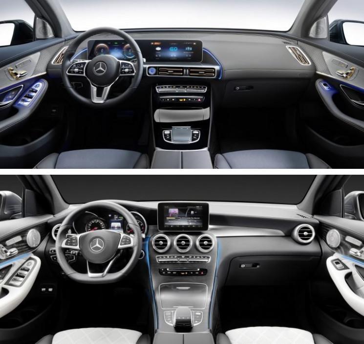مدل GLC وEQC مرسدس بنز,اخبار خودرو,خبرهای خودرو,مقایسه خودرو