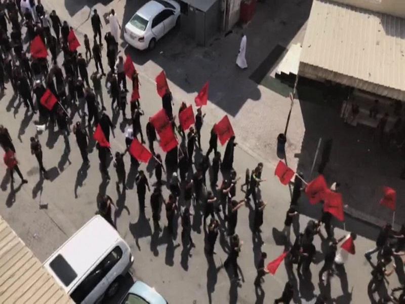 حمله یروهای آل خلیفه بحرین به عزاداران حسینی,اخبار سیاسی,خبرهای سیاسی,خاورمیانه