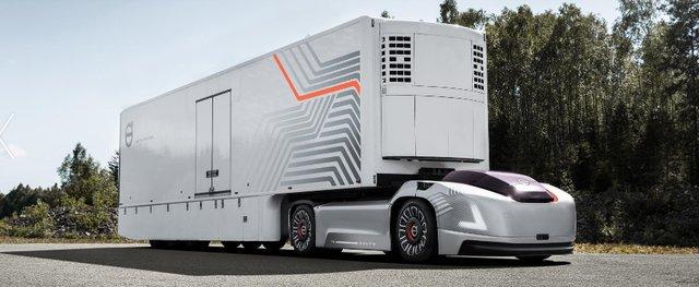 کامیون مفهومی خودران,اخبار خودرو,خبرهای خودرو,وسایل نقلیه