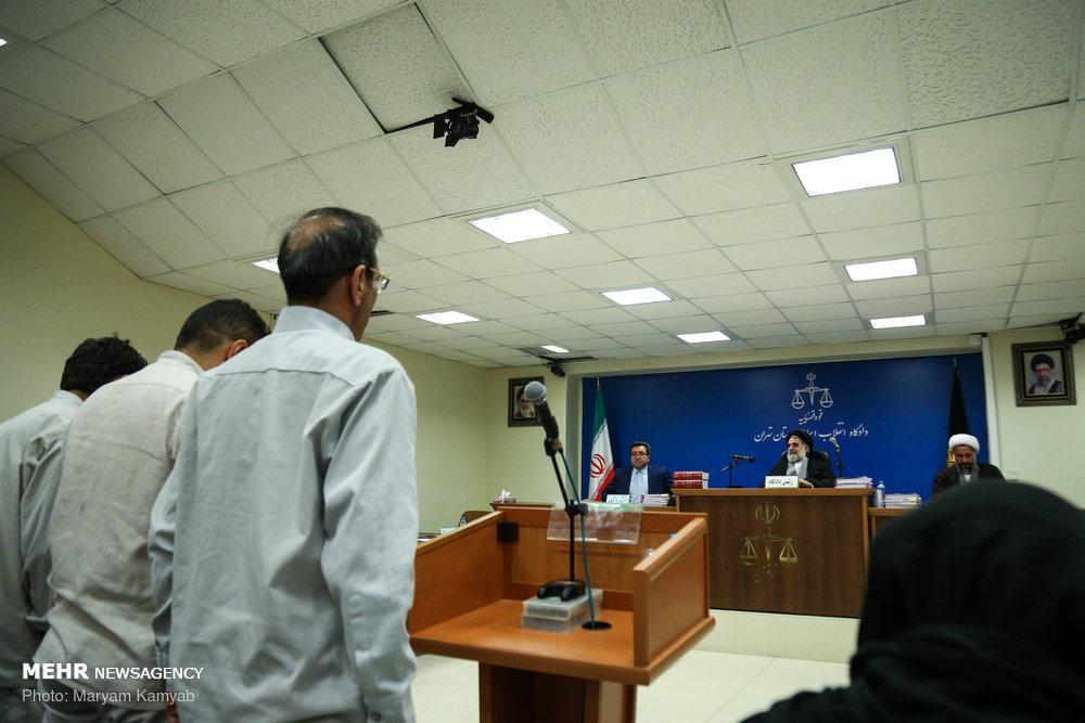 عکس دادگاه سلطان سکه,تصاویردادگاه سلطان سکه,عکس محاکمه وحید مظلومین