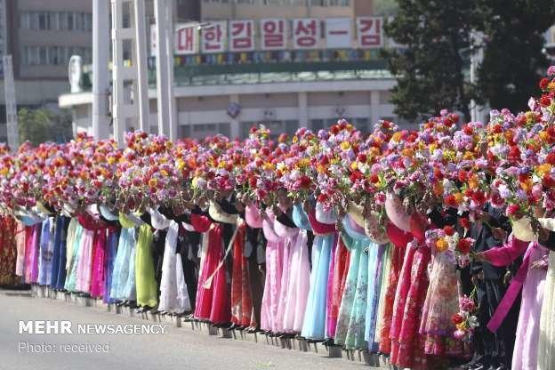 عکس سفرمون جائه این به کره شمالی,تصاویرسفرمون جائه این به کره شمالی,عکس دیدارمون جائه این با کیم جونگ اون