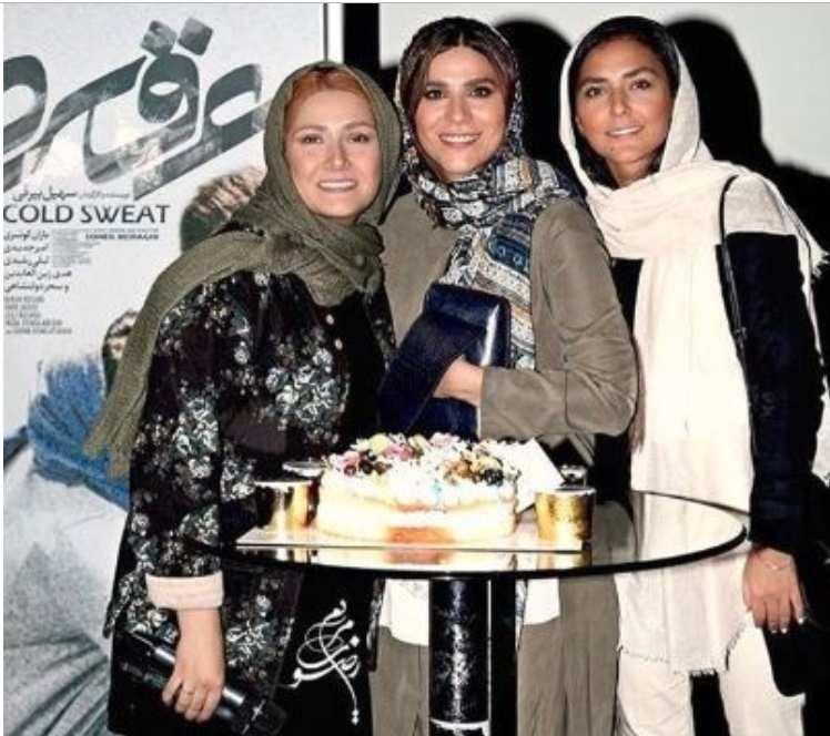 جشن تولد سحر دولتشاهی,اخبار هنرمندان,خبرهای هنرمندان,اخبار بازیگران