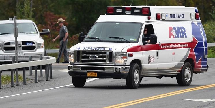 تصادف در آمریکا,اخبار حوادث,خبرهای حوادث,حوادث