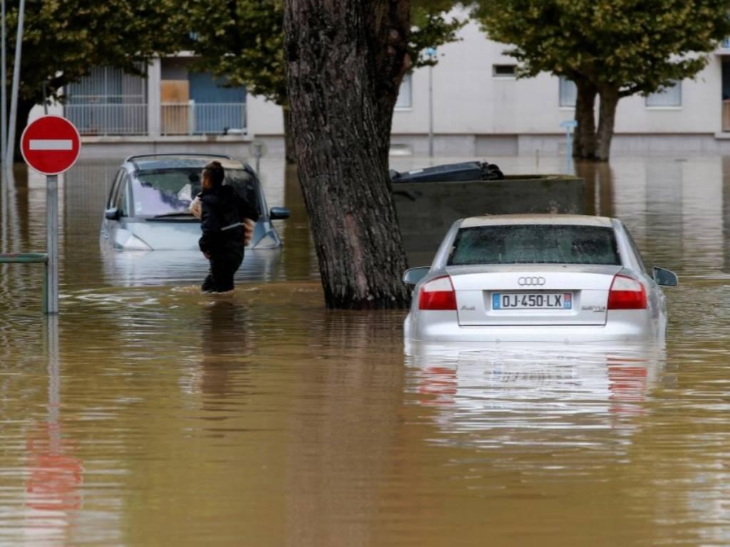 سیل در فرانسه,اخبار حوادث,خبرهای حوادث,حوادث طبیعی