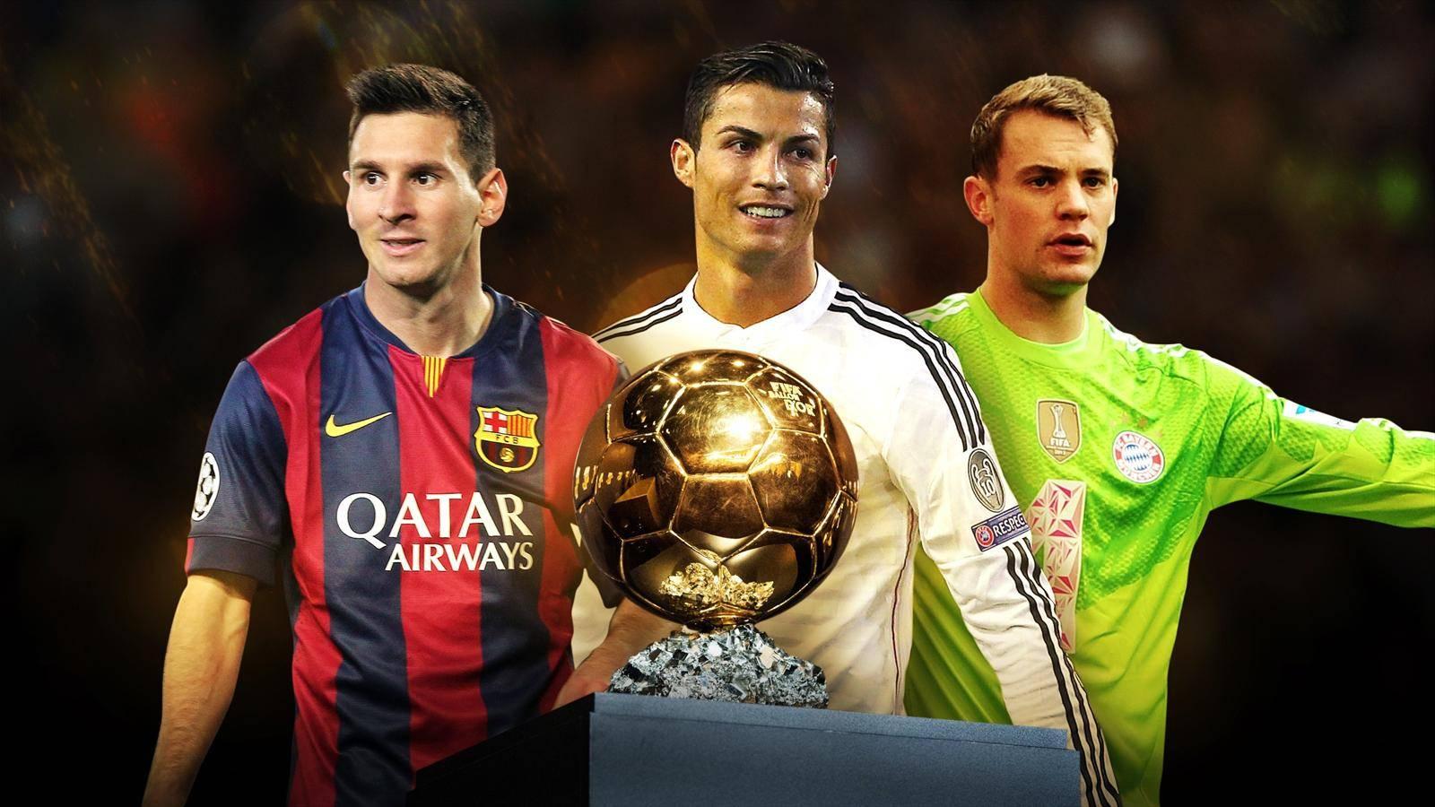 رونالدو، مسی و نویر,اخبار فوتبال,خبرهای فوتبال,اخبار فوتبال جهان