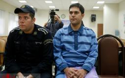 عکس حکم قوه قضاییه برای پرونده احمد پاسدار,تصاویرصدور حکم احمد پاسدار,عکس های دادگاه رسیدگی به پرونده احمد پاسدار