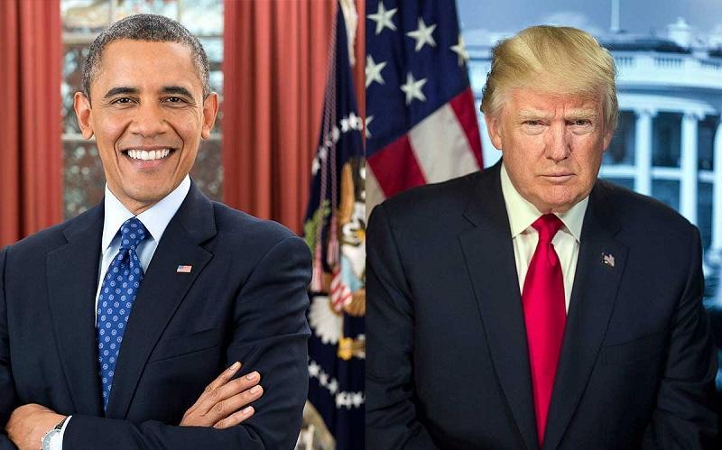 ترامپ و اوباما,اخبار سیاسی,خبرهای سیاسی,اخبار بین الملل