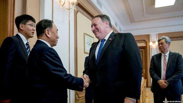 پامپئو و کیم یانگ چال,اخبار سیاسی,خبرهای سیاسی,اخبار بین الملل