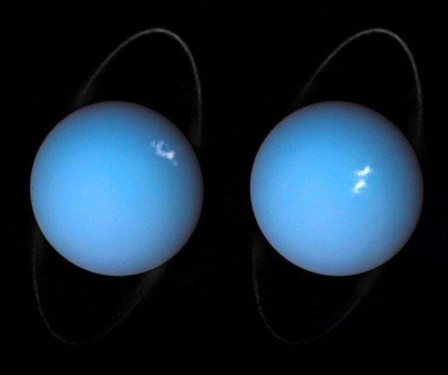 شفق قطبی در اورانوس,اخبار علمی,خبرهای علمی,نجوم و فضا