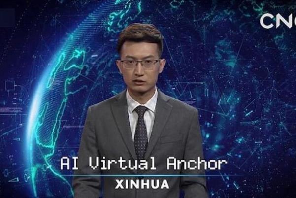 گوینده خبر رباتیک در خبرگزاری شینهوا,اخبار علمی,خبرهای علمی,اختراعات و پژوهش