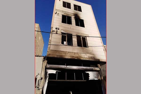 انفجار حین ساخت ترقه در شهر قدس,اخبار حوادث,خبرهای حوادث,حوادث امروز