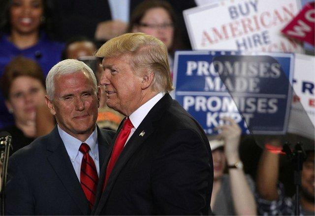 دونالد ترامپ و مایک پنس,اخبار سیاسی,خبرهای سیاسی,اخبار بین الملل