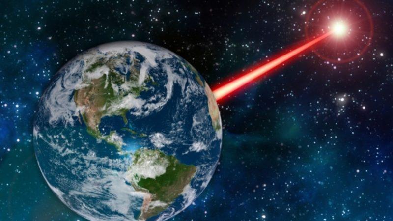 شلیک لیزر به فضا,اخبار علمی,خبرهای علمی,نجوم و فضا