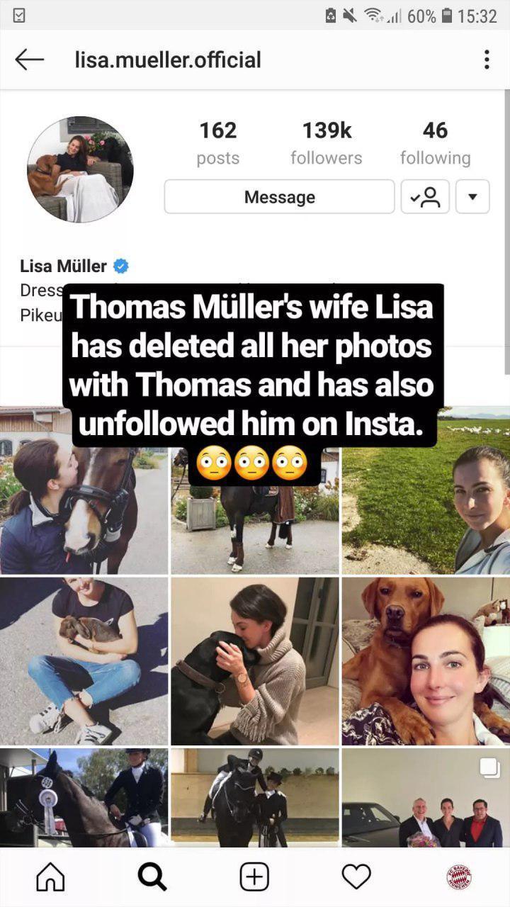 توماس مولر و لیزا مولر,اخبار ورزشی,خبرهای ورزشی,اخبار ورزشکاران