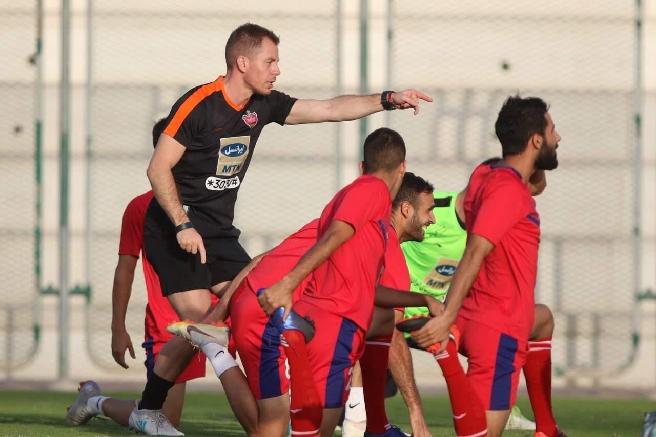 تمرین پرسپولیس در دبی,اخبار فوتبال,خبرهای فوتبال,لیگ قهرمانان و جام ملت ها