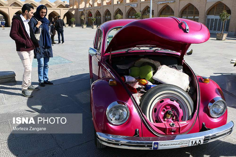تصاویر خودروهای کلاسیک آلمانی,تصاویر همایش خودروهای کلاسیک آلمانی,عکس های همایش خودروهای کلاسیک آلمانی در اصفهان