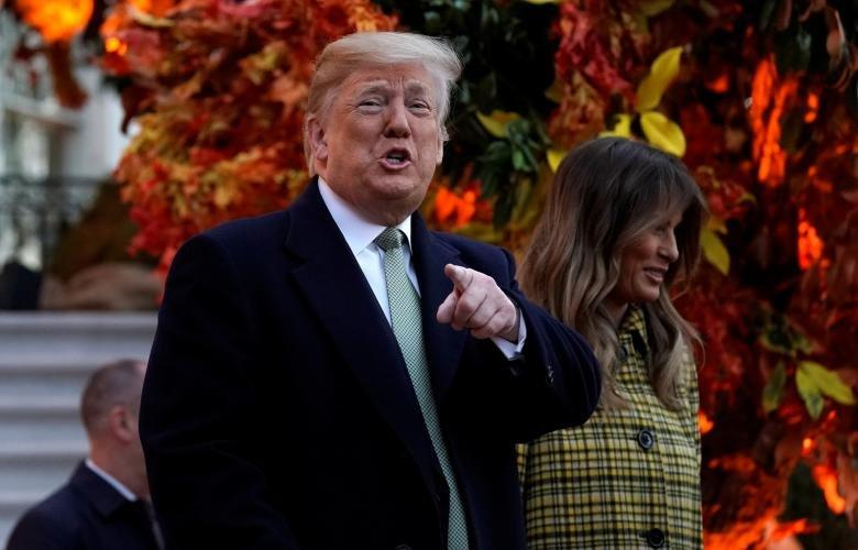 تصاویر ترامپ و ملانیا در جشن هالوین,عکسهای مراسم جشن هالوین در کاخ سفید,عکس های ترامپ و جشن هالوین